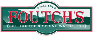 Foutch's Coffee and Spring Water Logo